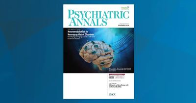 Psych Annals November 2016 Cover