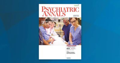 Psych Annals January 2018 Cover