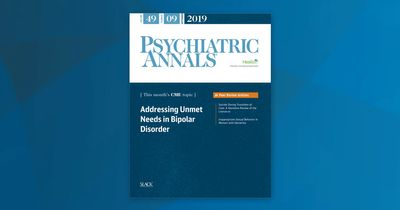 Psych Annals September 2019 Cover